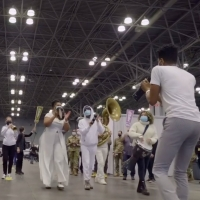 VIDEO: NY PopsUp Kicks Off With Performance From Jon Batiste, Ayodele Casel, Anthony  Photo