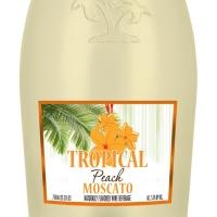 TROPICAL MOSCATO Peach Flavor Celebrates Summer Photo