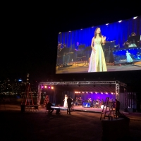 RADIAL PARK Opens Theatrical Drive-In Tonight With PHANTOM OF THE OPERA Featuring Derrick Photo