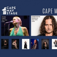 Cape May Stage's Virtual Broadway Series Features Storm Large, Constantine Maroulis, Photo