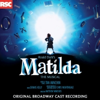 Limited Edition Double Record Vinyl Set of MATILDA THE MUSICAL to be Released Album
