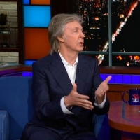 VIDEO: Paul McCartney Discusses His Dreams About John Lennon on THE LATE SHOW