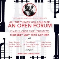 The Charles Mingus Institute Presents: Mingus Trumpet Forum/ 'Clark in the Dark' Photo