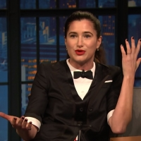 VIDEO: Watch Kathryn Hahn Talk About Camping With Her Kids on LATE NIGHT WITH SETH MEYERS