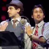 Video Flashback: Jin Ha and Brandon Uranowitz Sing 'The Best Thing That Ever Has Happ Photo