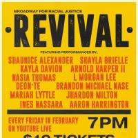 Broadway for Racial Justice Presents BFRJ REVIVAL Featuring Ines Nassara, Aaron Harri Photo
