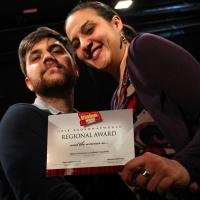 BWW Interview: MARTINA FERRAZANO E RAFFAELE FRACCHIOLLA BroadwayWorld Regional Award Winn Photo