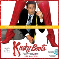 Regional Premiere of Broadway's KINKY BOOTS at FestivalSouth 2020