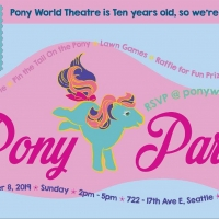 Pony World Theatre Turns 10 Years Old and Celebrates Birthday With A Party