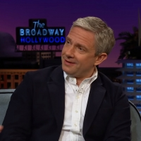 VIDEO: Martin Freeman Says Eminem Stole His Fashion Sense on THE LATE LATE SHOW Photo