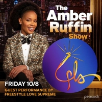 FREESTYLE LOVE SUPREME to Perform on THE AMBER RUFFIN SHOW Tonight Photo