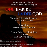 Zoom Reading Of ONE EMPIRE, UNDER GOD Scheduled For October 16 Photo