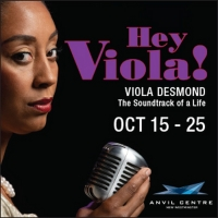 Anvil Centre Presents the Premiere of HEY VIOLA! Photo