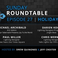 4Wall Sunday Roundtable Discusses Designers Of Holiday Shows Photo