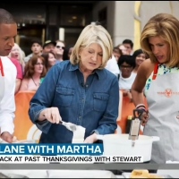 VIDEO: Martha Stewart Shares Thanksgiving Memories on TODAY SHOW Photo