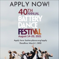 Battery Dance Now Accepting Applications for 40th Annual Battery Dance Festival Photo