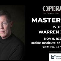 Opera Santa Barbara Announces Masterclass With Warren Jones, Pianist And Conductor