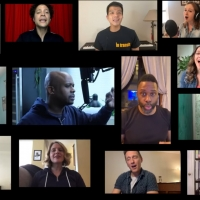 VIDEO: Telly Leung, Justin Guarini and the Cast of IN TRANSIT Sing Virtual A Capella  Video