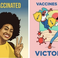 Amplifier Launches #Vaccinated, Global Public Art Campaign To Spread Accurate COVID-19 Vac Photo