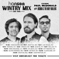 HANSON Announces the 'Wintry Mix' Tour