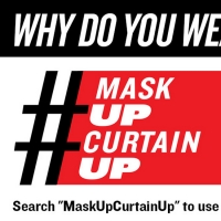 Katrina Lenk, Cyndi Lauper and More Join MASK UP CURTAIN UP Social Media Campaign Photo