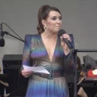 VIDEO: Jessica Vosk Hosts New York Philharmonic at Bryant Park Photo