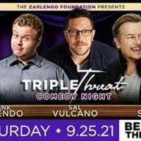 Triple Threat Comedy Night Will Be Performed at Bellco Theatre in September Photo