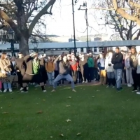 VIDEO: New Zealand Protesters Perform Haka Dance in Honor of George Floyd Photo