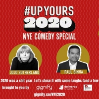Seann Walsh, Paul Sinha And Tanyalee Davis Host #UPYOURS2020 NYE VIRTUAL PARTY Photo