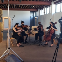 5BMF and the Noguchi Museum Present The Argus Quartet In NOISE/SILENCE Photo