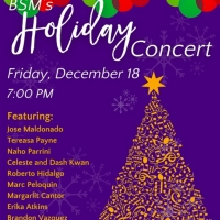 Bloomingdale School Of Music Presents Virtual Holiday Concert HAPPY HOLIDAY Photo