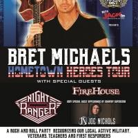 Bret Michaels HOMETOWN HEROES Tour Kicks-Off In Casper
