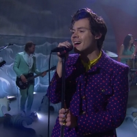 VIDEO: Watch Harry Styles Perform 'Adore You' on THE LATE LATE SHOW