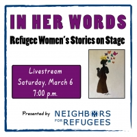 Real Life Refugee Joins Cast Of Virtual Benefit Reading 'In Her Words: Refugee Women' Photo
