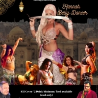 BELLY DANCE EXTRAVAGANZA HOSTED BY HANNAH Will Play Don't Tell Mama September 19th, 8 Photo