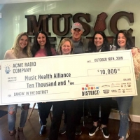 Dancin' In The District Raises $10,000 for the Music Health Alliance Photo