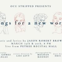 BWW Previews: SONGS FOR A NEW WORLD at Petree Recital Hall - Oklahoma City University Photo
