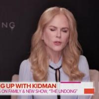 VIDEO: Nicole Kidman Talks THE UNDOING on TODAY SHOW Photo