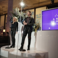 VIDEO: Watch Orfeh and Andy Karl Sing for Frontline Workers at A NIGHT OF HEROES Photo