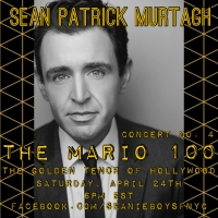 Sean Patrick Murtagh Presents Fourth Concert in THE MARIO 100 Series on April 24th Photo