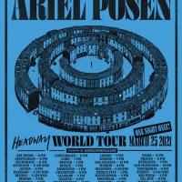 Ariel Posen Announces One-Off World Tour Live Concert Photo