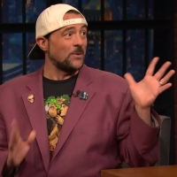 VIDEO: Kevin Smith Gets Seth to Invite Him Over for a Late Night Smoke Sesh on LATE N Video
