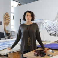 Sanaz Mazinani Presents Public Art Installation 'All that Melts: Notes From the Future-Pas Photo