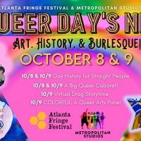 Atlanta Fringe Presents LGBTQ Performances To Celebrate Pride October 8-9, 2021 Photo