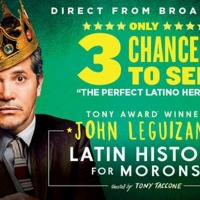 John Leguizamo Brings LATIN HISTORY FOR MORONS To D.C.'s National Theatre