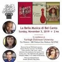 Opera At Florham Presents LA BELLA MUSICA DI BEL CANTO Photo