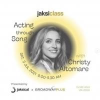 ANASTASIA Star Christy Altomare Tutored Aspiring Indonesian Actors Through JAKSICAL a Photo