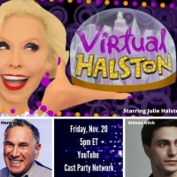 BWW Previews: November 20th Is a Halston Double Header When Julie Welcomes Horn and G Photo