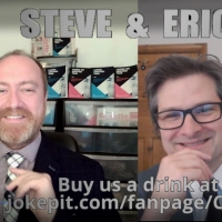 Steve N Allen And Erich McElroy Are 'Comics Solving Problems' At The Online Free Frin Photo