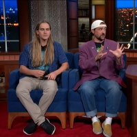 VIDEO: Kevin Smith & Jason Mewes Talk CLERKS on THE LATE SHOW WITH STEPHEN COLBERT